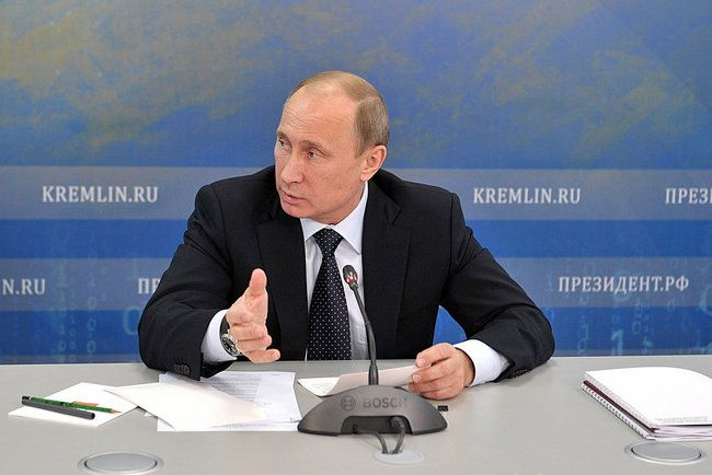 President Putin at Meeting on Developing Russia's Space Sector