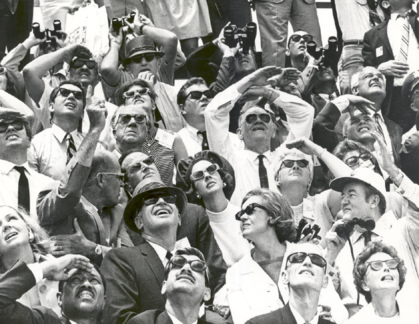 Space History Photo: Belgium King and Queen watch Apollo 10 Launch