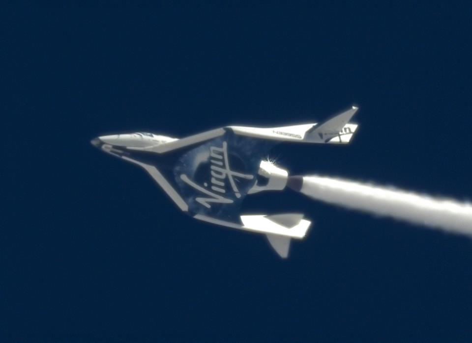 Virgin Galactic's SpaceShipTwo Makes Stunning Leap Toward Private Spaceflight
