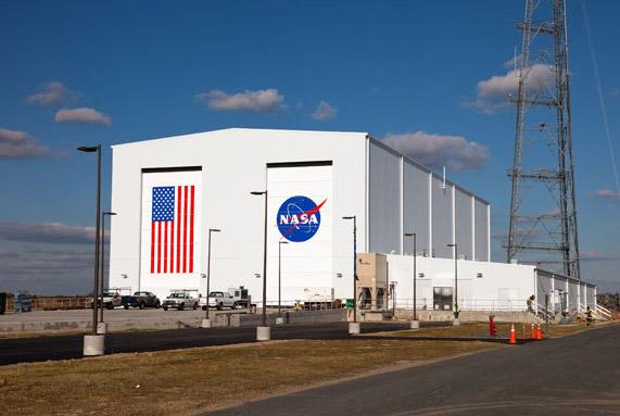 NASA Wallops Flight Facility Hangar