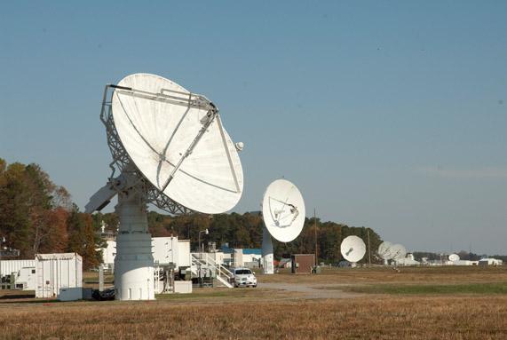 NASA Wallops Flight Facility Antennas