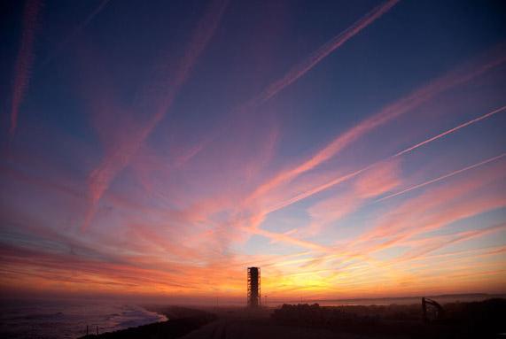 Sunrise at NASA Wallops