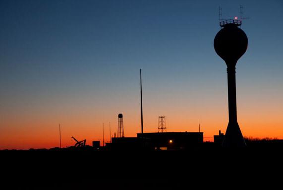 NASA Wallops in Twilight