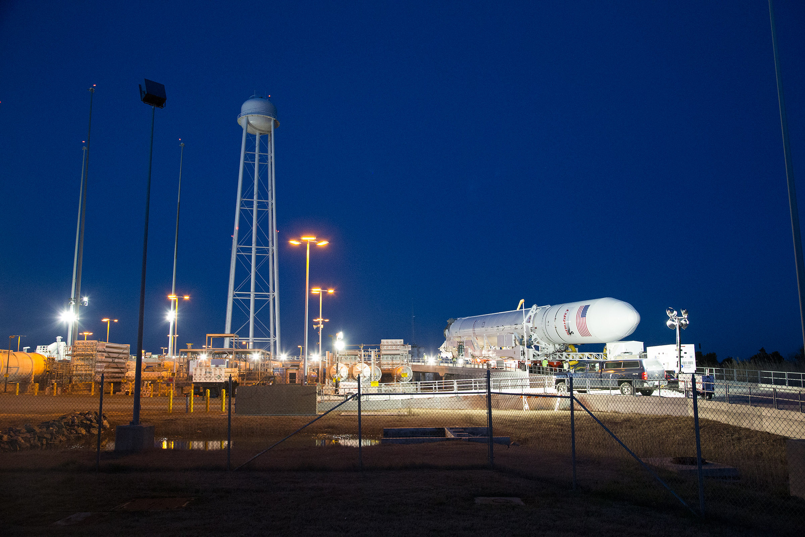 Antares Test Flight Scheduled for April 17