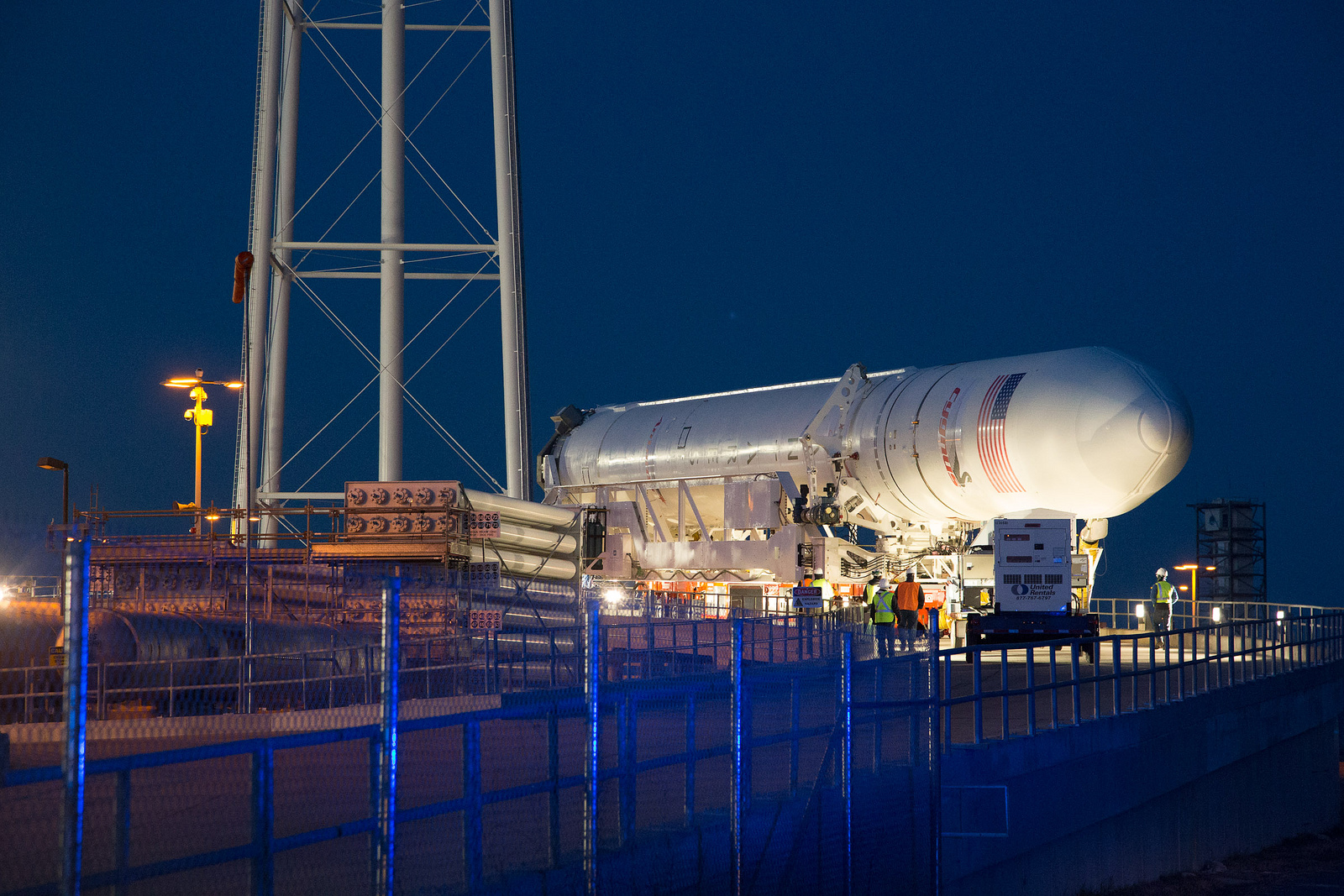 Antares Test Flight Set for April 17