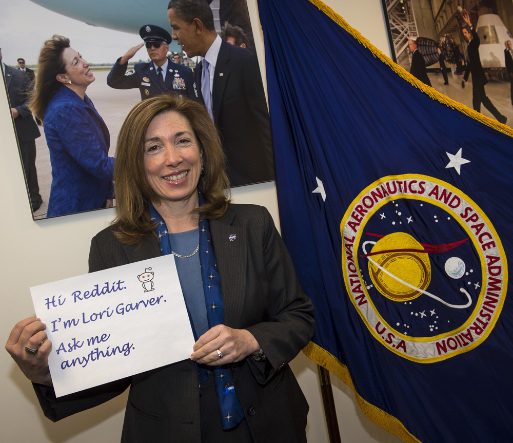 NASA Deputy Chief to Answer Questions on Reddit Wednesday