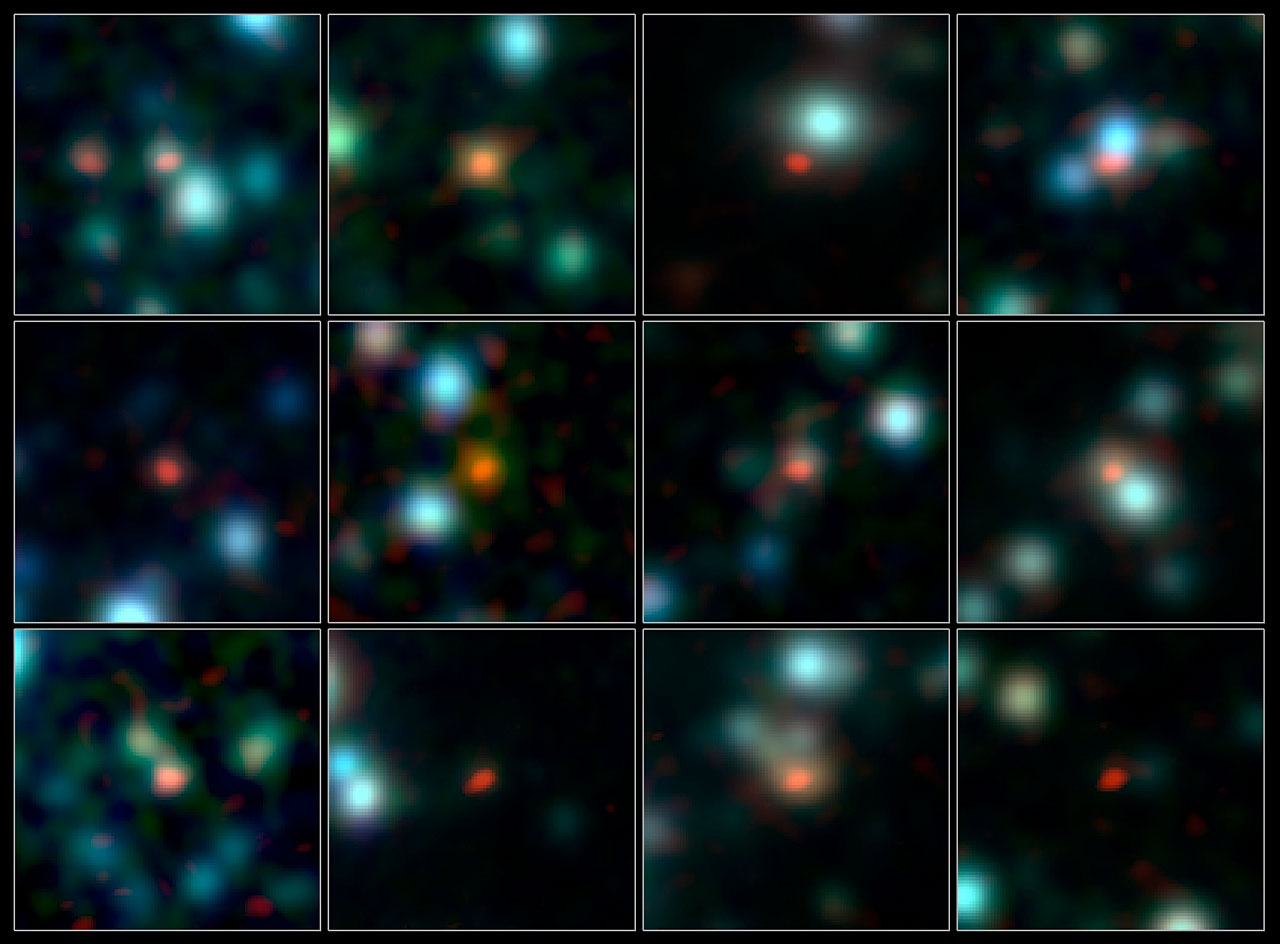 Huge New Radio Telescope Pinpoints Ancient Star-Forming Galaxies