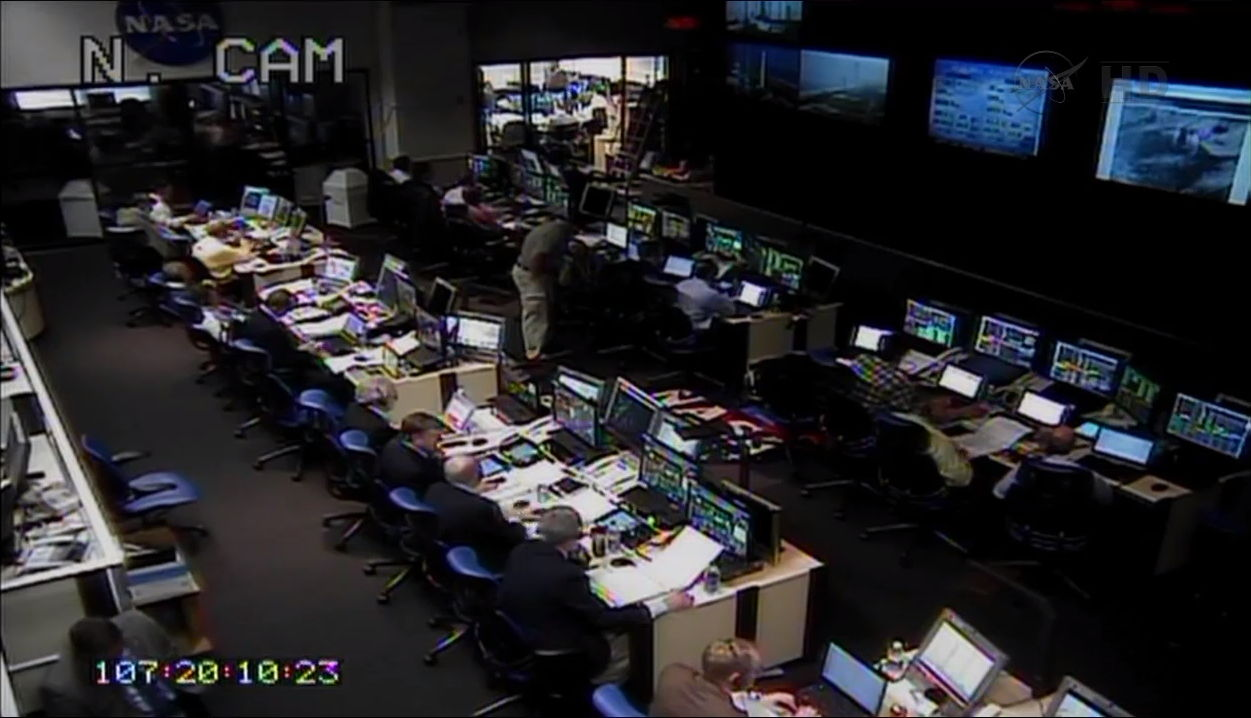Antares Launch Control Room