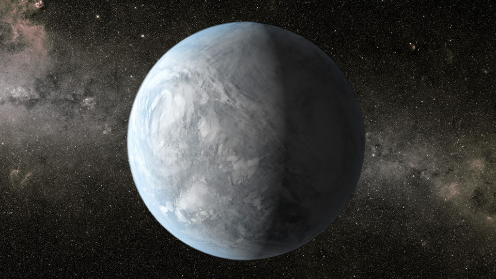 Kepler-62e Exoplanet