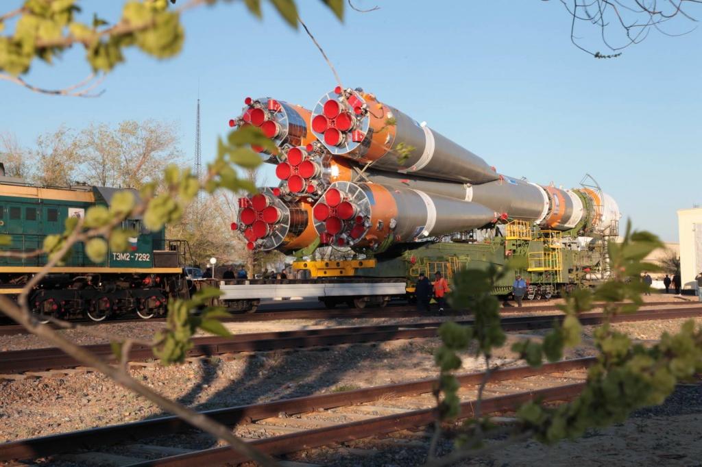 Soyuz Rocket Carrying Bion-M1