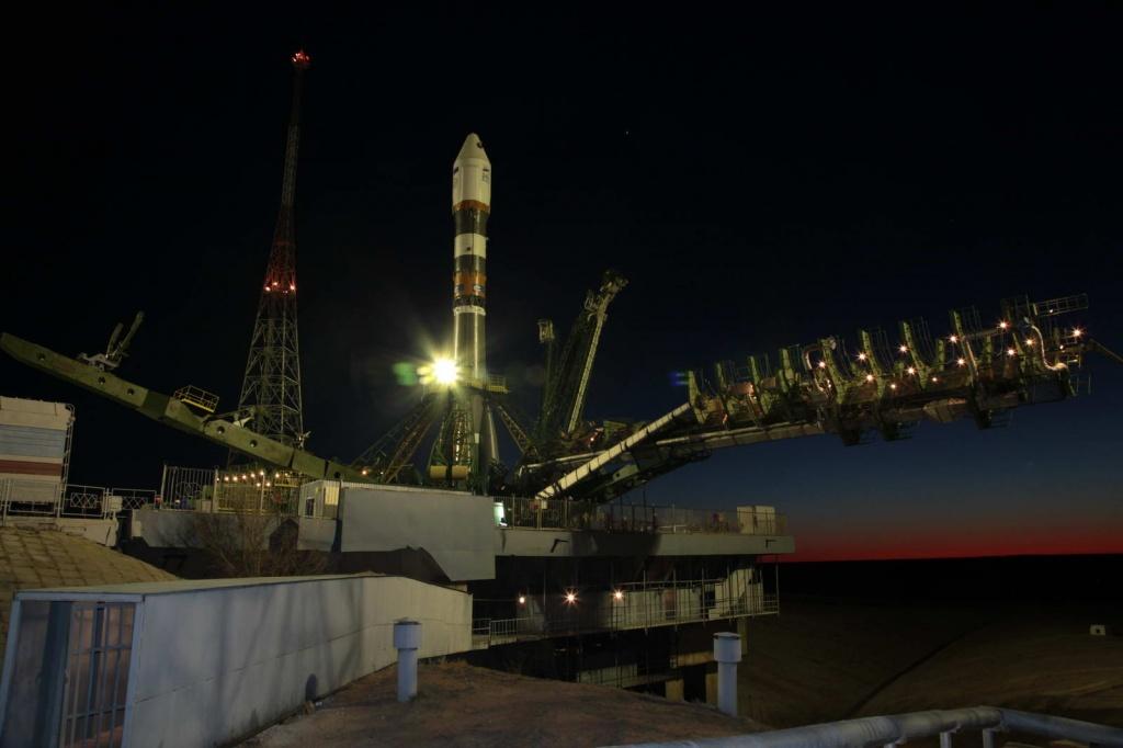 Soyuz Rocket with Bion-M1