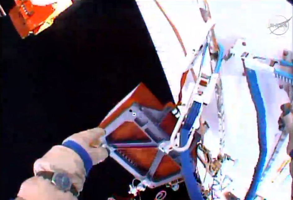 Obstanovka Experiment Floats in Space