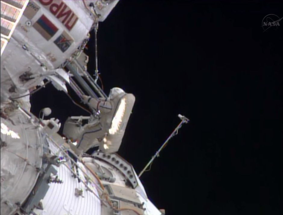 Spacewalk Continues