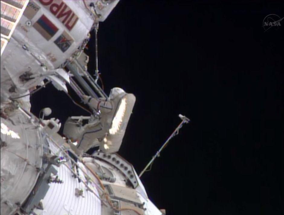 Spacewalk Continues
