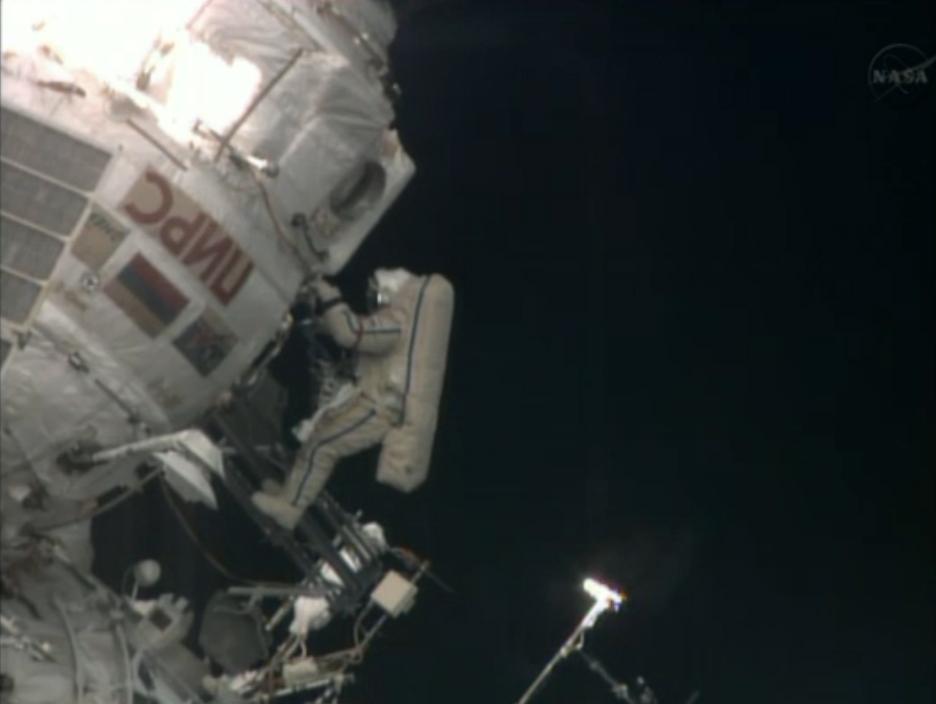 Cosmonaut Pavel Vinogradov, Oldest Spacewalker