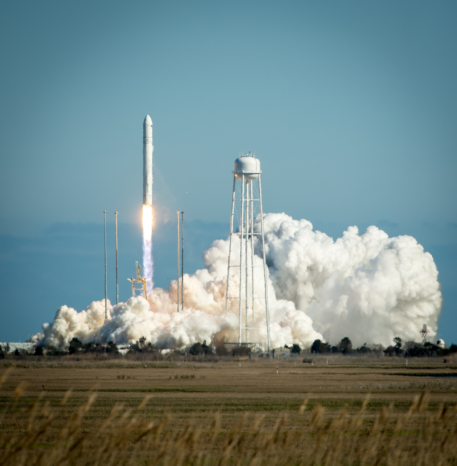 LIFTOFF! Antares Rocket Soars Toward Space