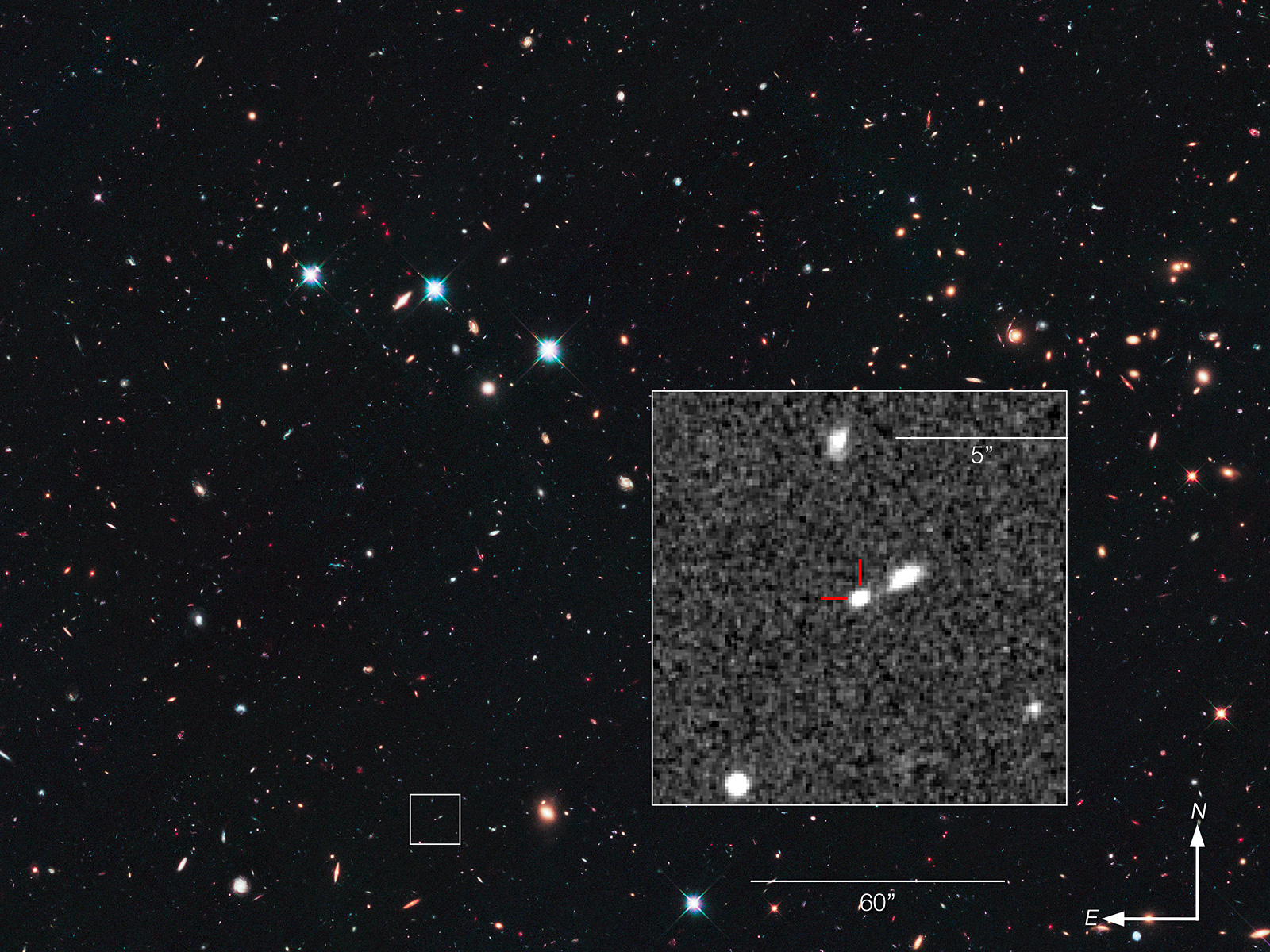 Type Ia Supernova Most Distant Detected space wallpaper