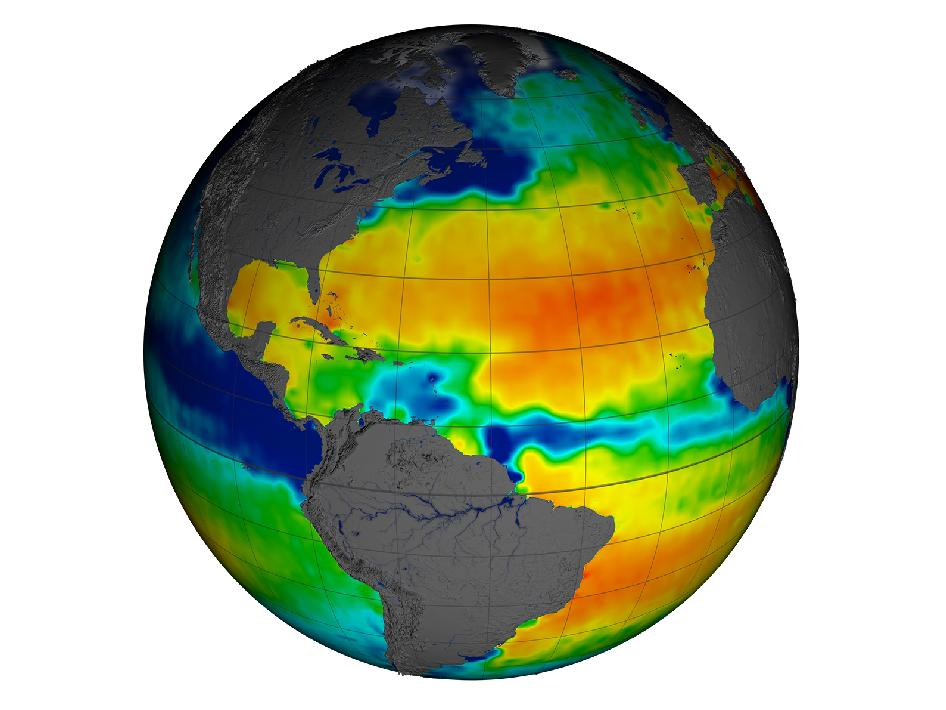 Aquarius Sea Surface Salinity