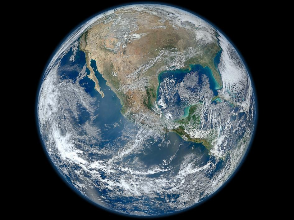 Blue Marble from Suomi NPP