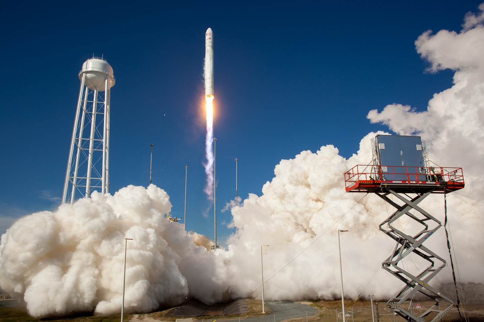 Antares Rocket Takes Off in Test Launch