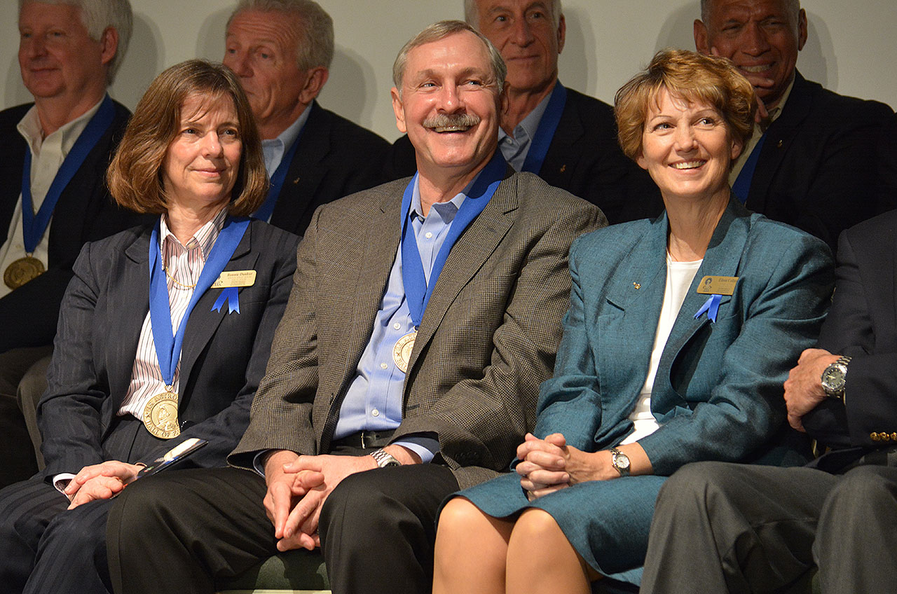 Astronaut Hall of Fame Adds 1st Female Shuttle Commander, Two Others