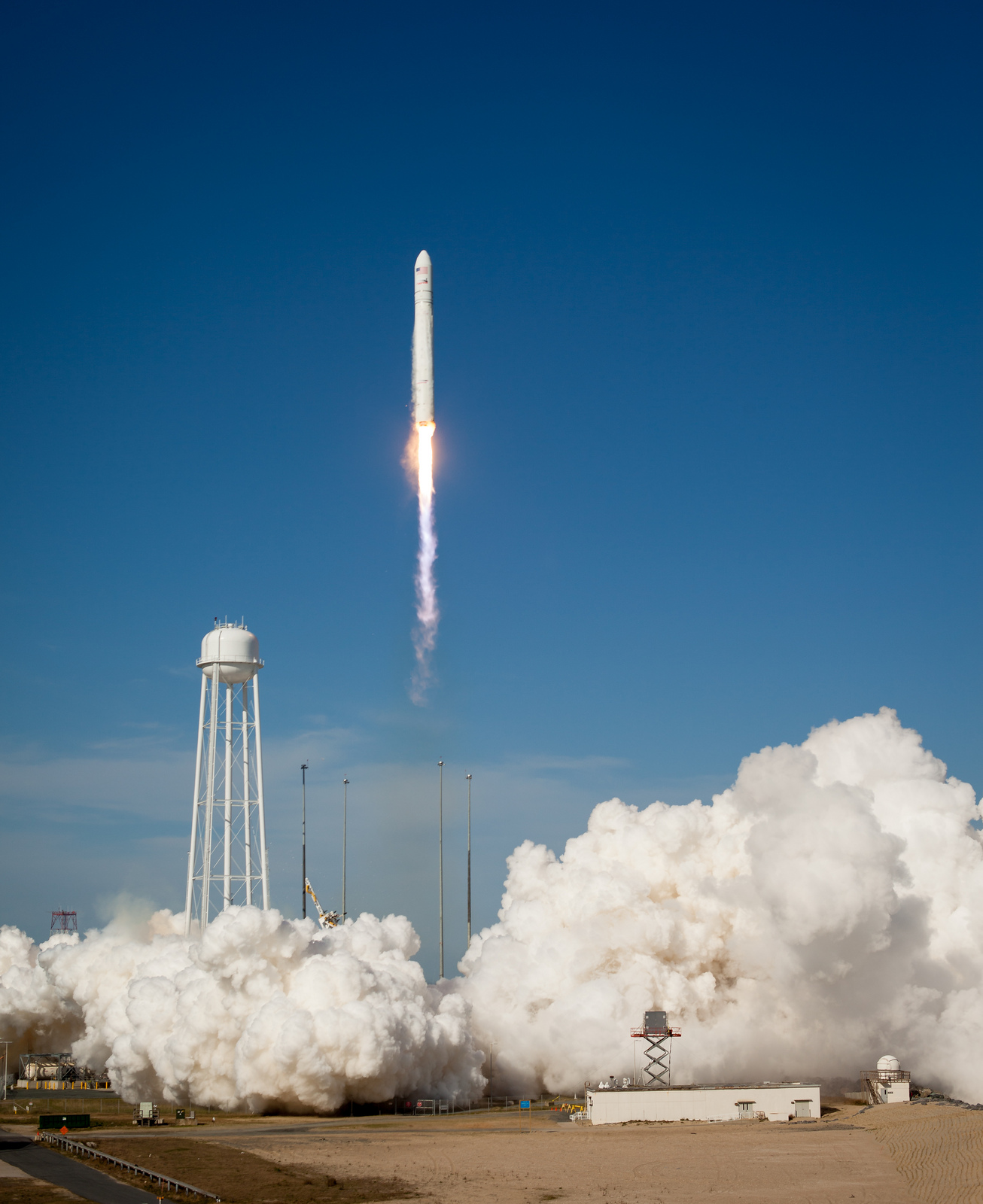 Antares Liftoff Sets Record for Wallops Flight Facility