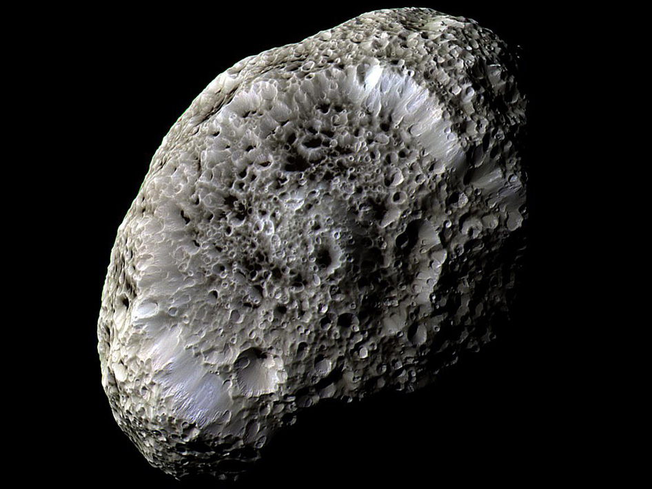 Hyperion: Saturn's Spongy Moon