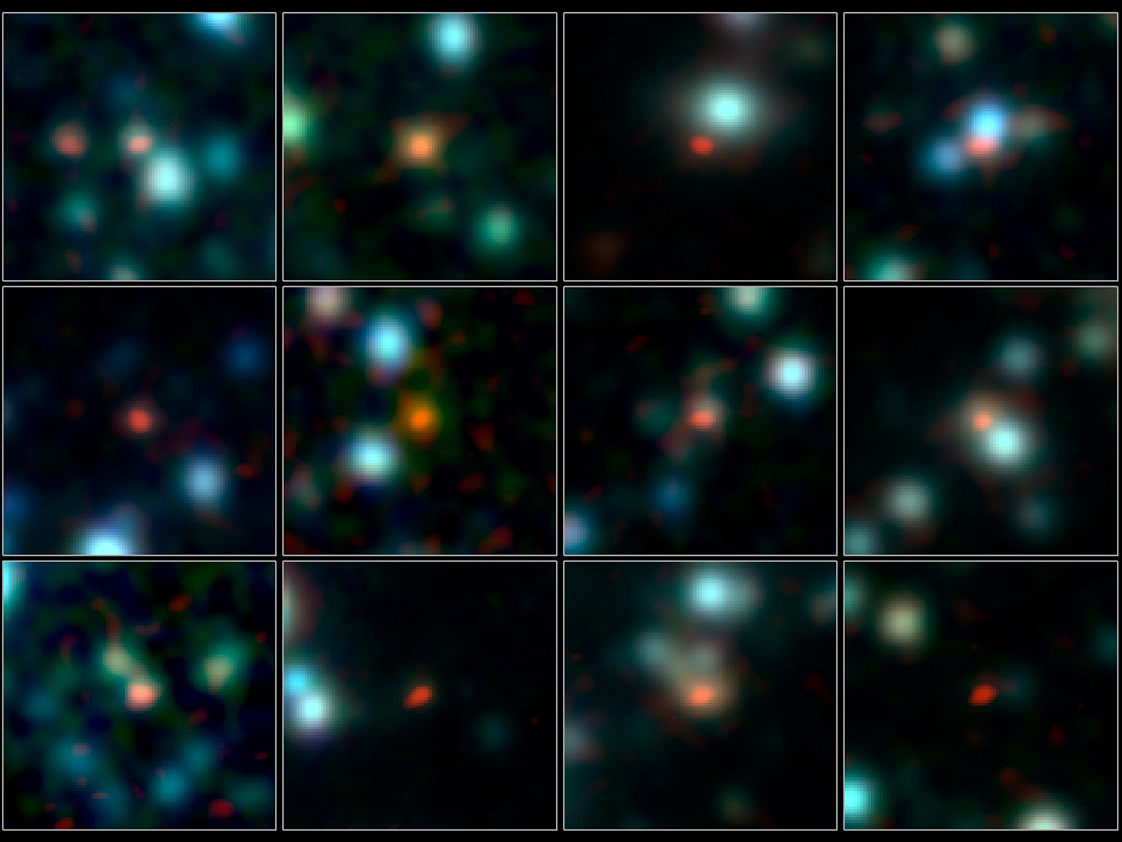 ALMA Pinpoints Most Fertile Star-Forming Galaxies space wallpaper