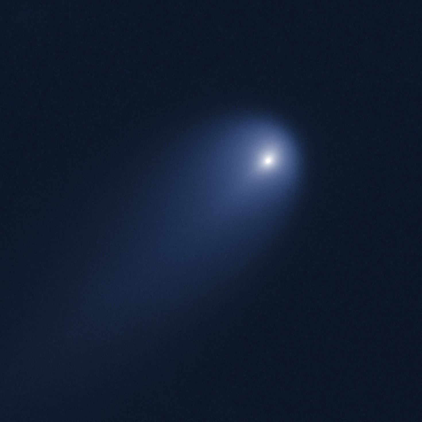 Comet ISON Photo by Hubble Space Telescope