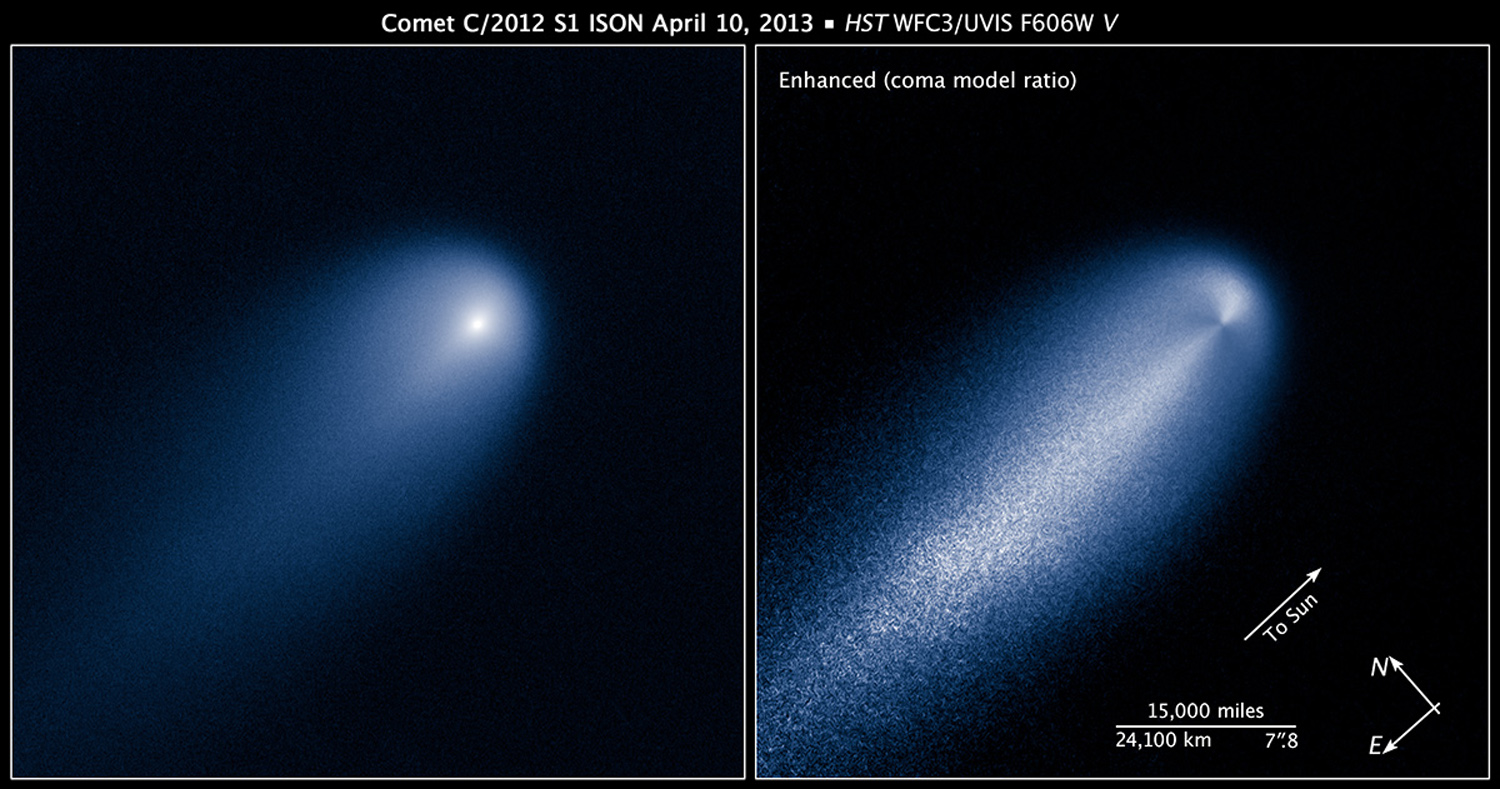Hubble's Views of Comet ISON