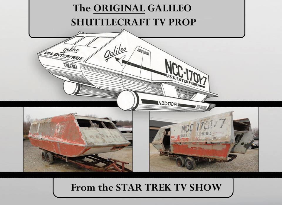 Original 'Star Trek' Galileo Shuttlecraft Restored by Loving Fans