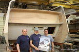 "The ""Star Trek"" Galileo shuttlecraft restoration continues in March 2013."