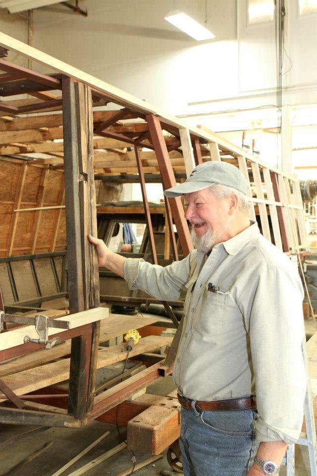 Master Shipwrights Owner Hans Mikaitis
