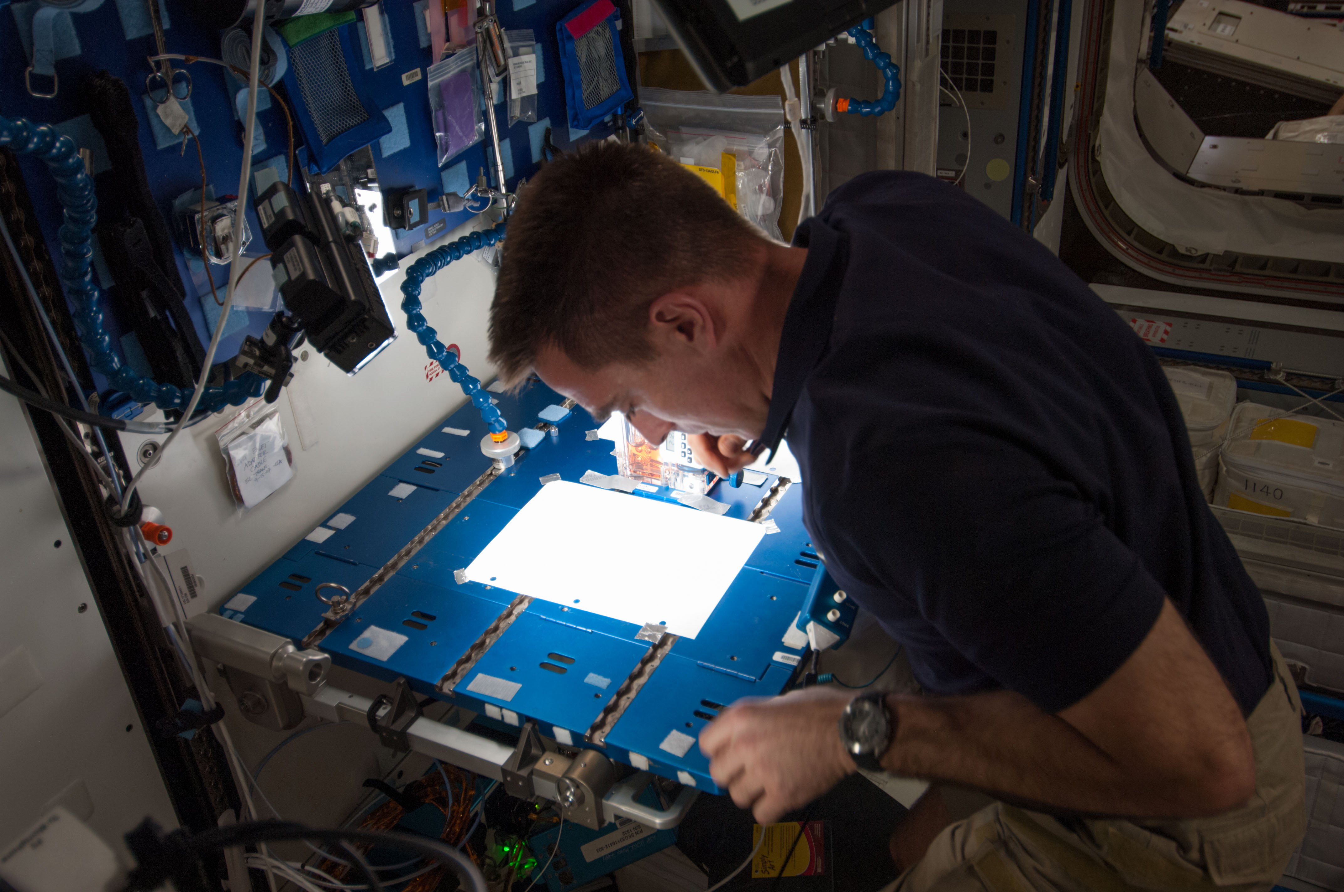 Astronaut Chris Cassidy on Expedition 35