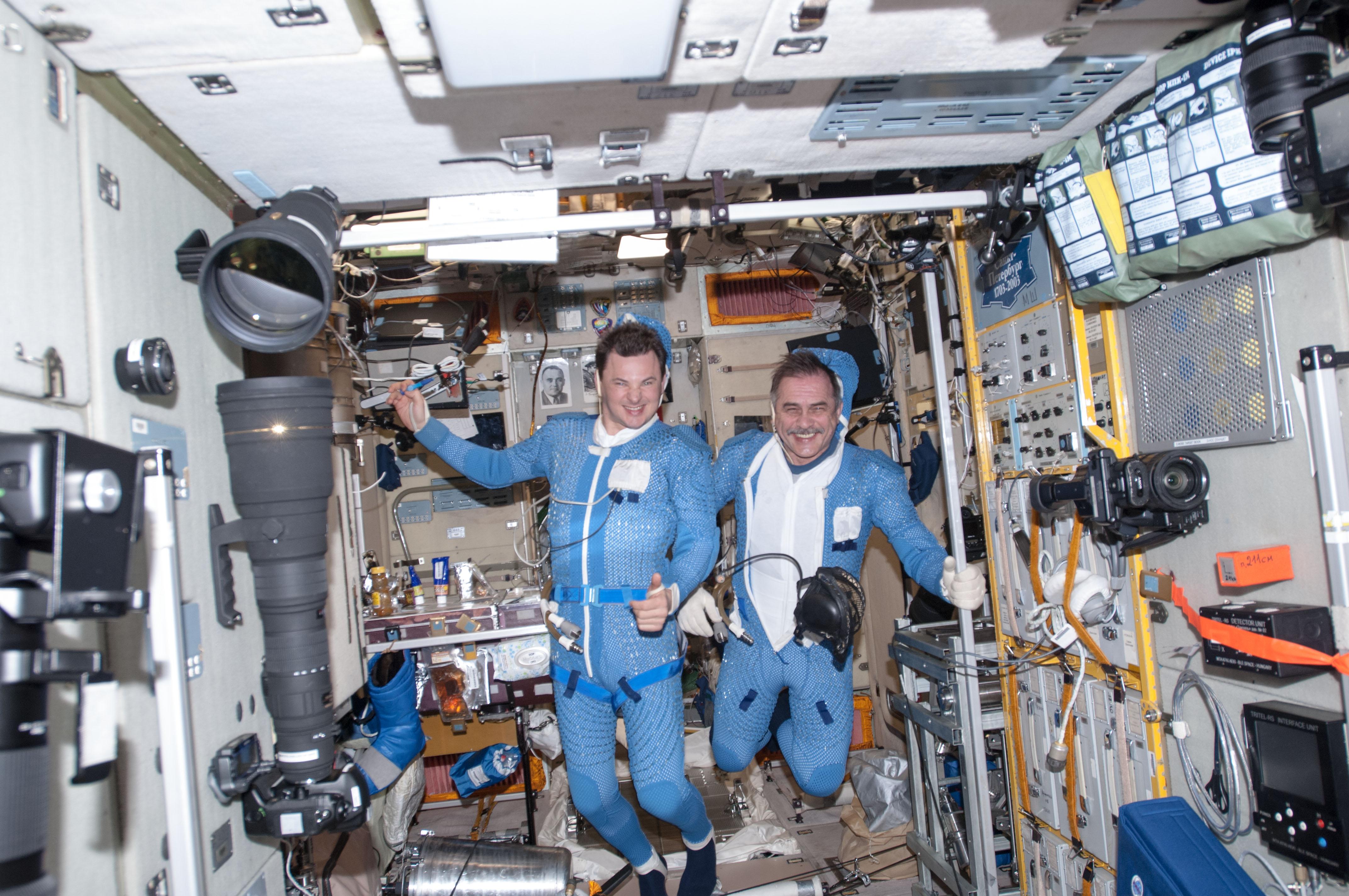 Before the Spacewalk