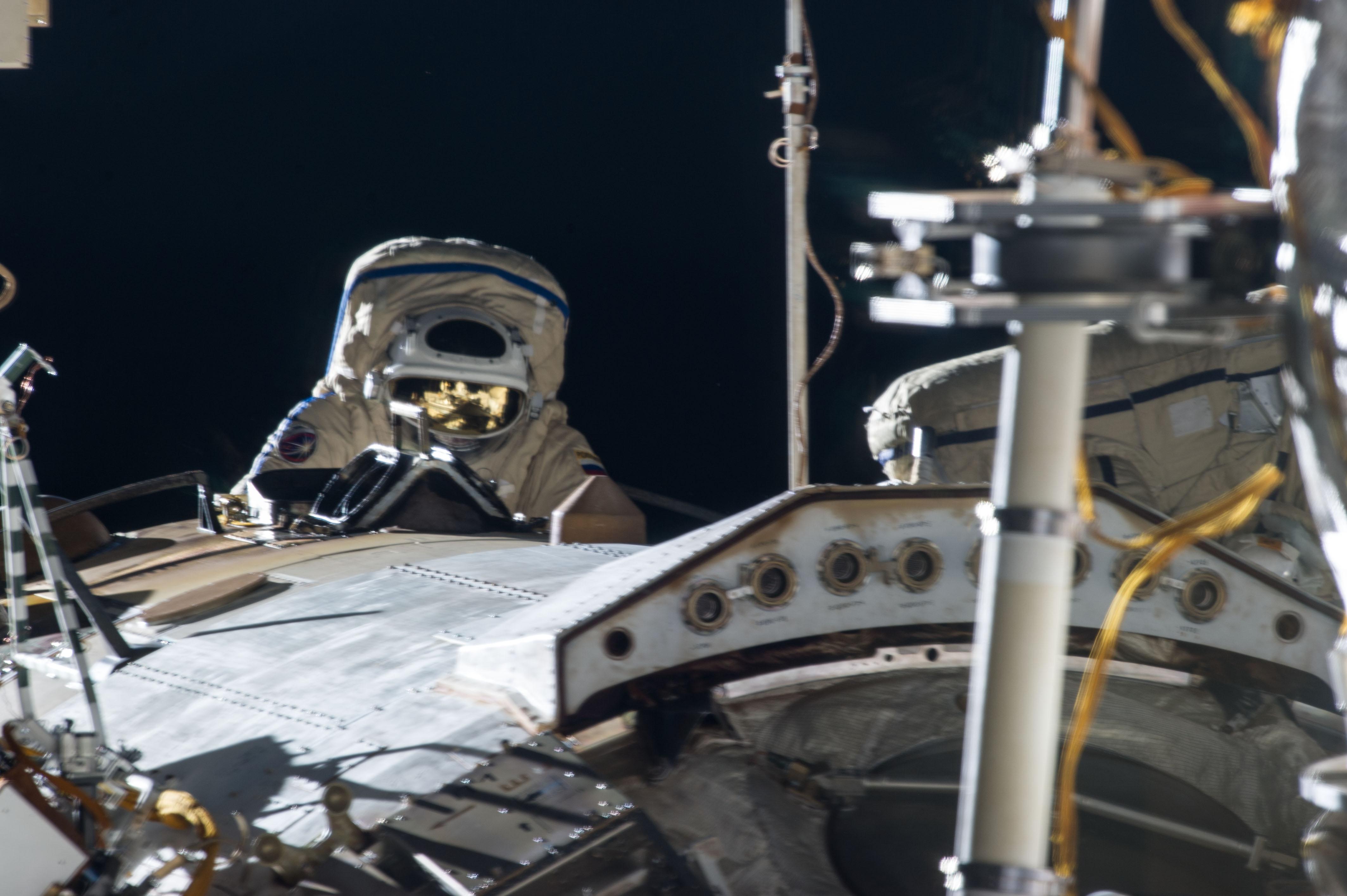 Expedition 35 Spacewalk
