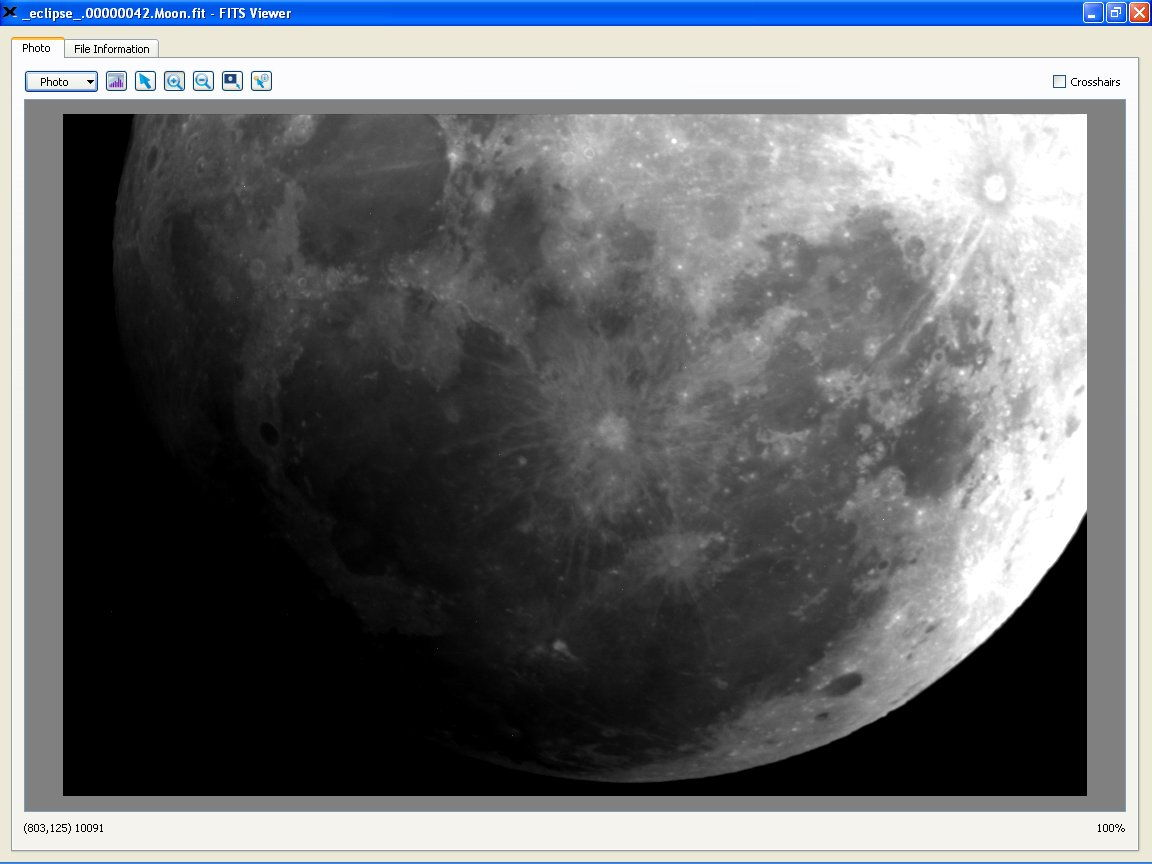 Partial Lunar Eclipse Seen by the Virtual Telescope Project 2.0