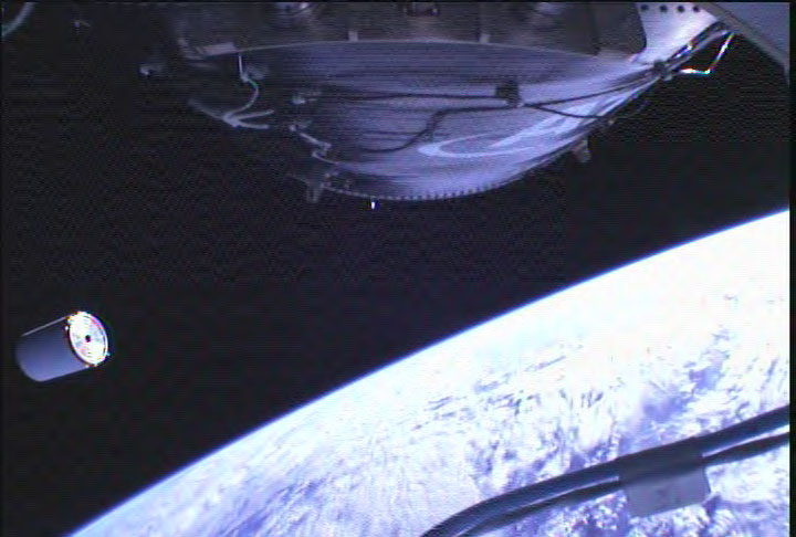 Cygnus Spacecraft Separation