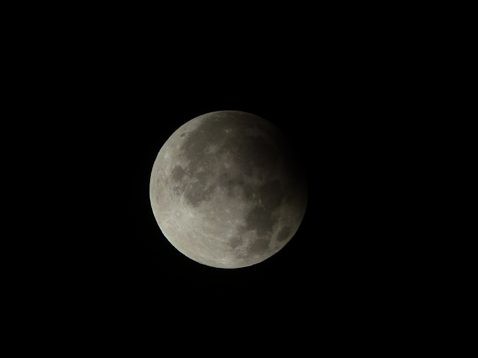Partial Lunar Eclipse Seen from Philippines