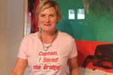 Star Trek: The Next Generation star Denise Crosby is among the celebrities who have expressed their support for the project, its backers said.