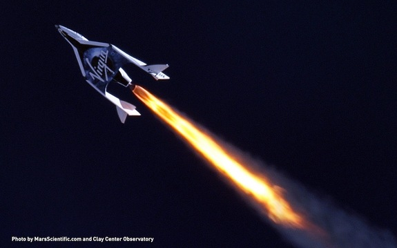 Virgin Galactic conducted a historic first supersonic test flight of SpaceShipTwo on April 29, 2013, in the Mojave Desert, CA.