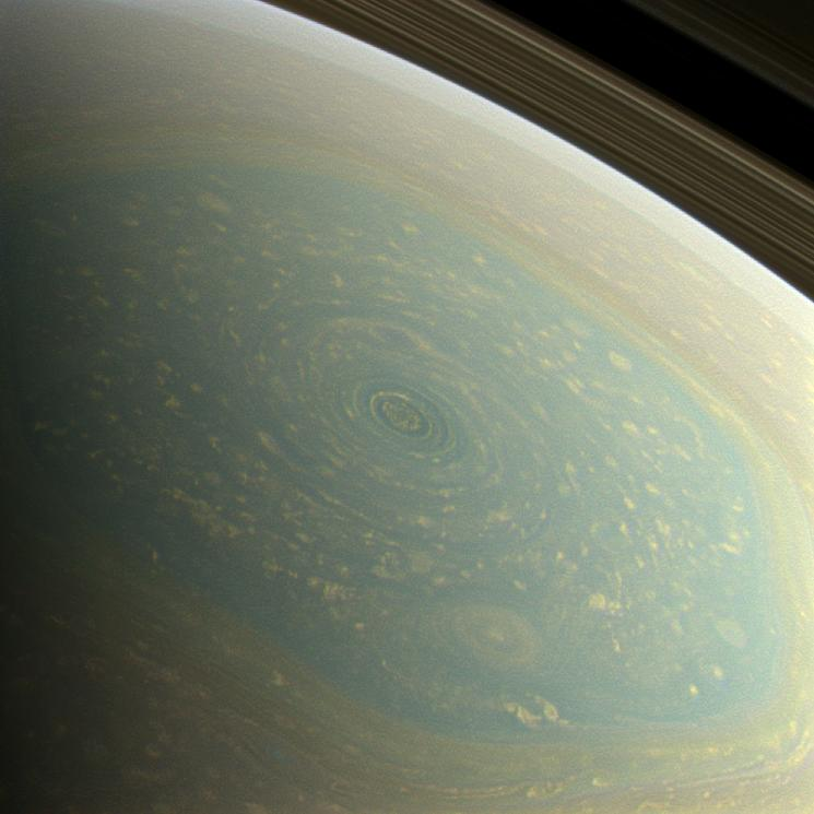 Saturn's North Pole