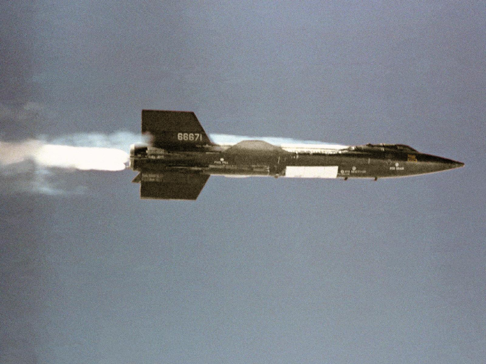 X-15 Launches from Mothership