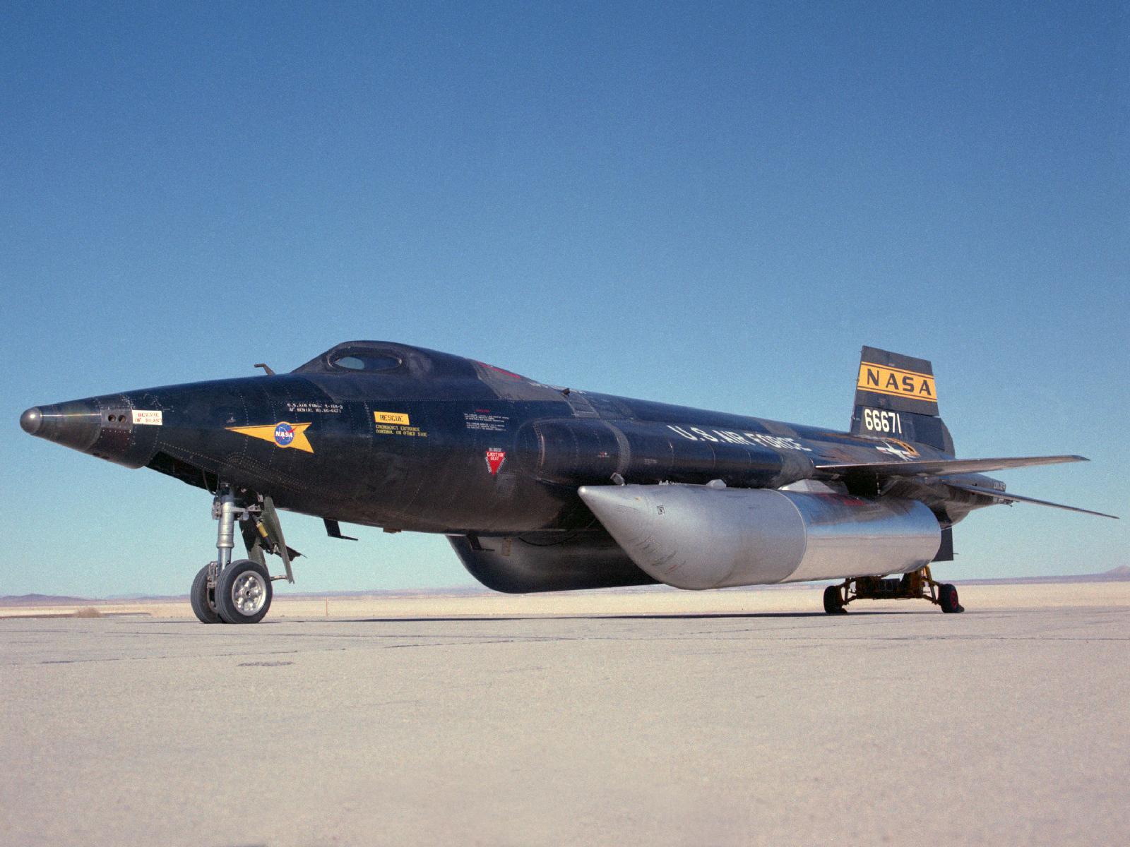 Second X-15 Rocket Plane
