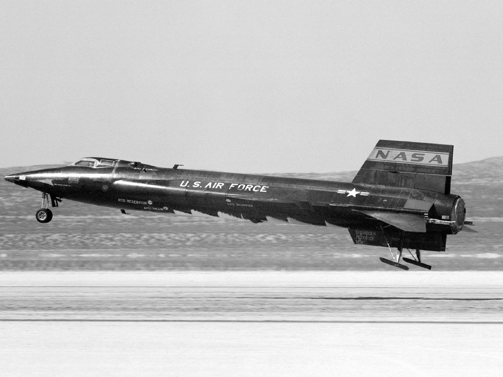 X-15 Lakebed Landing