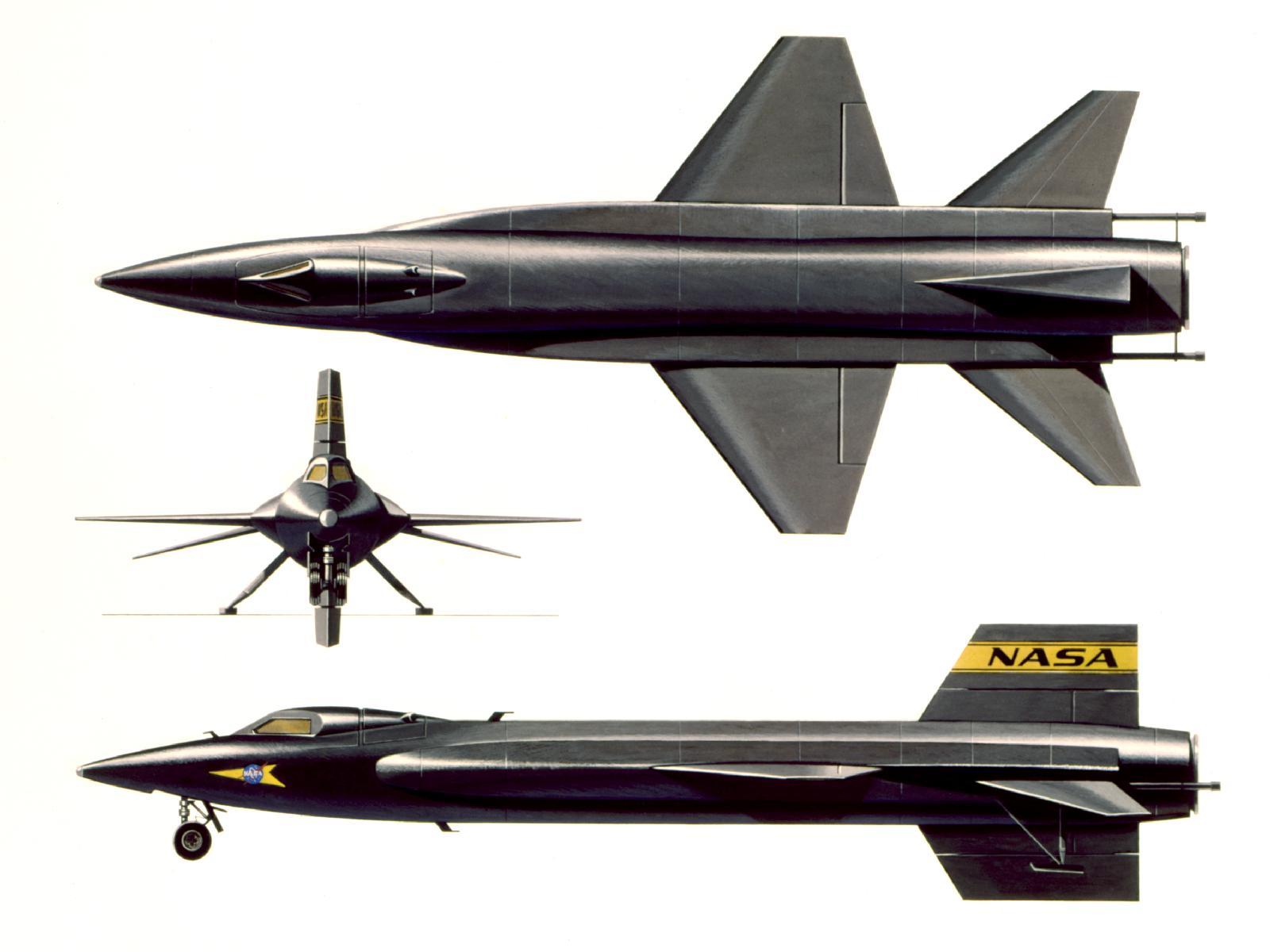 North American X-15 Illustration