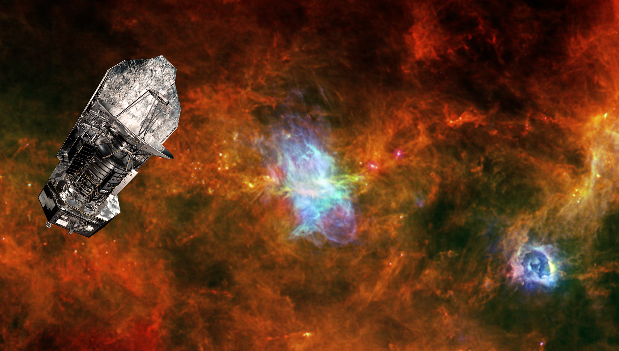 Herschel Space Observatory and Vela C
