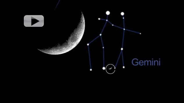 Moon Is Your Guide For May 2013 Skywatching | Video