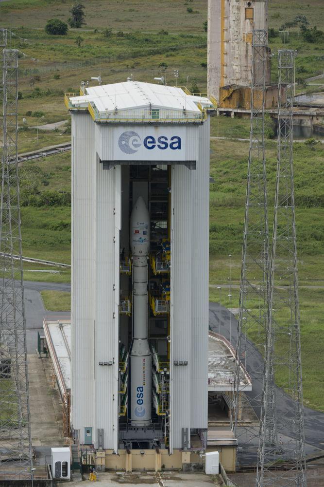 Fully Assembled Vega VV02 in Mobile Gantry