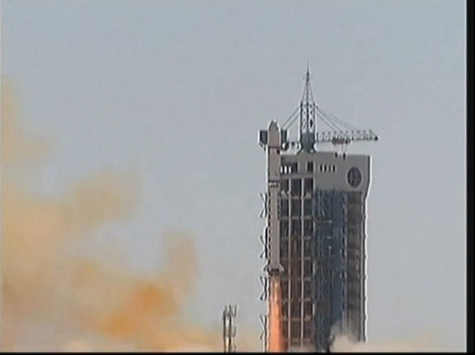 Chinese Rocket Launches Four Satellites into Space